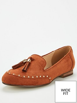 v-by-very-wide-fitnbsptassel-loafers-tan