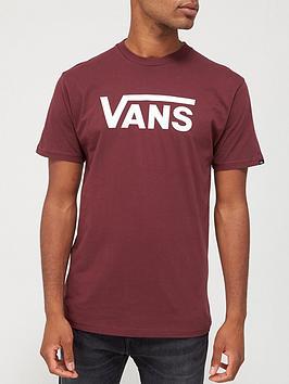 vans-classic-t-shirt-burgundywhite