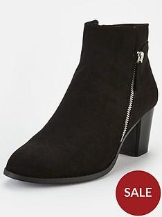 v-by-very-fleet-zip-low-heel-ankle-boots-black