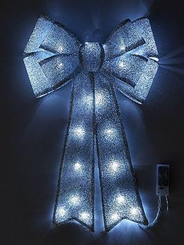 battery-operated-door-bow-silver