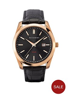 accurist-accurist-solar-black-sunray-and-rose-gold-detail-date-dial-black-leather-strap-mens-watch