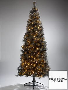 7ft-cashmere-tips-black-pre-lit-christmas-tree