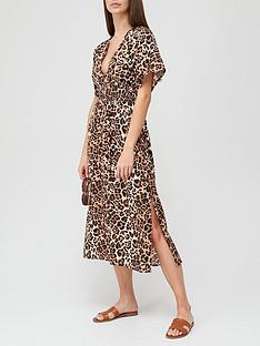 v-by-very-viscose-kimono-sleeve-dress-animal-print
