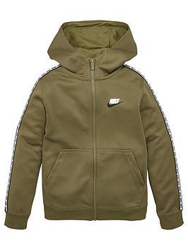 Nike Nike Childrens Repeat Full Zip Hoodie - Khaki Picture