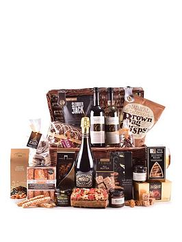 Very Prosecco, Wine And Treats Extra Large Wicker Hamper Picture