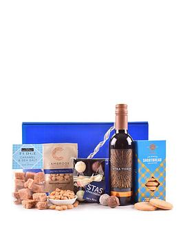 Very Red Wine And Treats Gift Box Picture