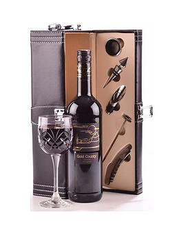 red-wine-in-black-faux-leather-gift-box-with-accessories