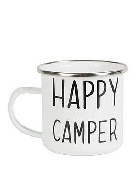 Sass & Belle Sass & Belle Happy Camper Enamel Mug Picture