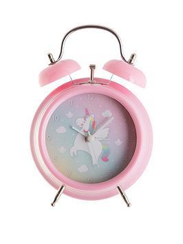 Sass & Belle Sass & Belle Rainbow Unicorn Alarm Clock Picture