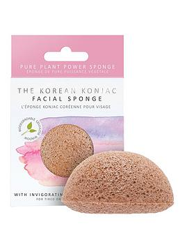 the-konjac-sponge-company-premium-facial-puff-with-pink-clay
