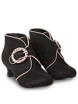 Joe Browns Joe Browns Little Minx Buckle Boots - Black Multi Picture