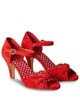 Joe Browns Joe Browns Oh Miss Scarlet Shoes - Red Picture