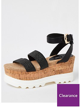 river-island-chunky-sole-flatform-sandals-black