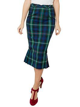 Joe Browns Joe Browns Vintage Check Skirt Picture