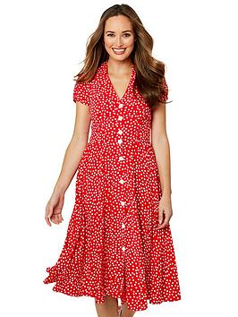 Joe Browns Joe Browns Joe Browns Flattering Button Through Dress Picture