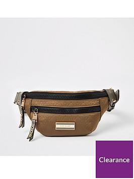 river-island-nylon-belt-bag-khaki