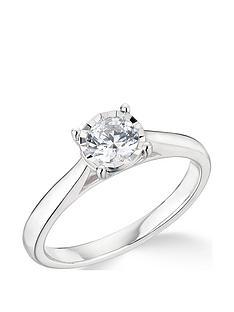 9k-white-gold-050ct-illusion-set-diamond-ring