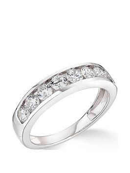 Love DIAMOND Love Diamond 9K White Gold 1.00Ct Diamond Wwedding Band Ring Picture