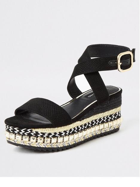 river-island-stud-flatform-ankle-strap-sandal-black
