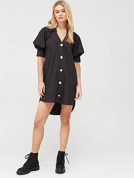 River Island River Island Poplin Shirt Dress - Black Picture