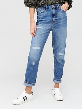 River Island River Island Mom Jeans - Mid Authentic Picture