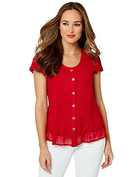 Joe Browns Joe Browns Radiant Embroidered Blouse Picture