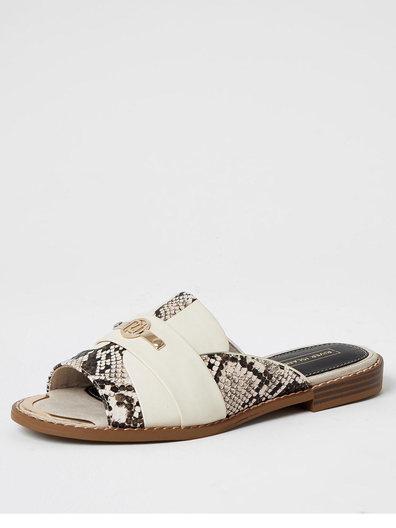 Flat Sandals   River island   Sandals