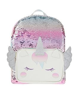 Monsoon Monsoon Girls Whispie Wings Sequin Backpack - Multi Picture