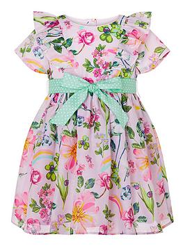 Monsoon Monsoon Baby Girls Pixie Dress - Pink Picture