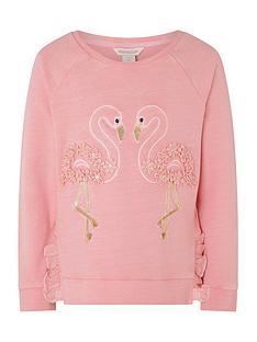 monsoon-girls-flamingo-garment-dye-sweatshirt-coral