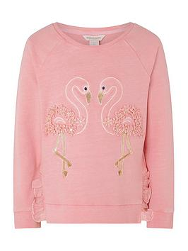 monsoon-girls-flamingo-garment-dye-sweatshirt-coral
