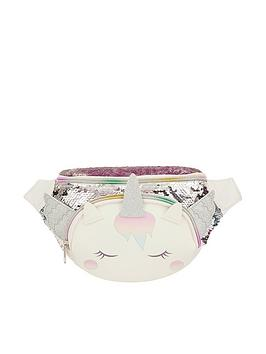 Monsoon Monsoon Girls Whispie Wings Sequin Bumbag - Multi Picture