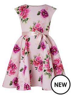 monsoon-girls-deena-floral-print-scuba-dress-pink
