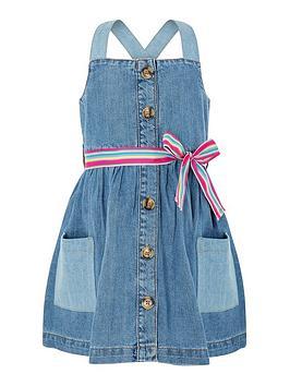 monsoon-girls-daisy-denim-dress-blue