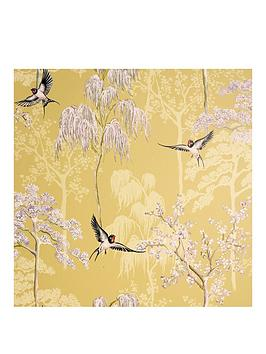 ARTHOUSE Arthouse Japanese Garden Vinyl Wallpaper Picture