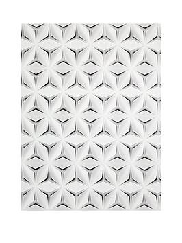 ARTHOUSE Arthouse 3D Diamond White Wallpaper Picture
