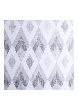 Arthouse Scandi Diamond Natural Vinyl Wallpaper