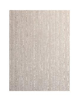 ARTHOUSE Arthouse Luxe Industrial Stripe Rose Gold Vinyl Wallpaper Picture