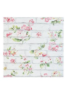 ARTHOUSE Arthouse Shabby Chic Brick Wallpaper Picture