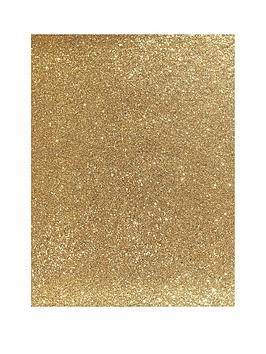 ARTHOUSE Arthouse Sequin Sparkle Gold Wallpaper Picture