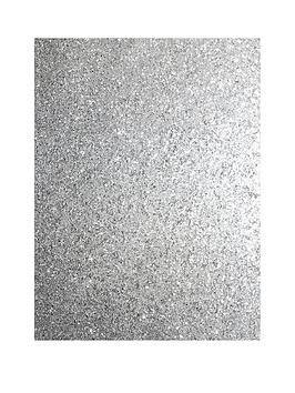 ARTHOUSE Arthouse Sequin Sparkle Silver Wallpaper Picture