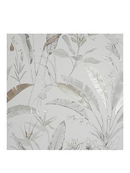 ARTHOUSE Arthouse Floral Jungle Metallic Wallpaper Picture