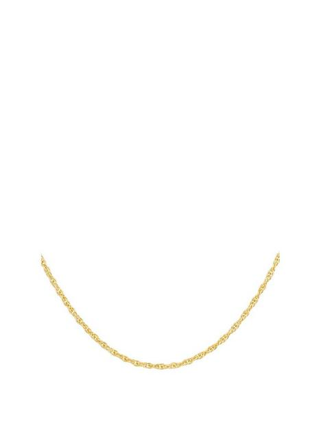 love-gold-9ct-gold-prince-of-wales-chain-necklace