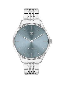 Tommy Hilfiger Tommy Hilfiger Tommy Hilfiger Gray Stainless Steel Bracelet  ... Picture