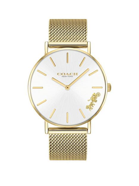 coach-perry-gold-stainless-steel-mesh-strap-ladies-watch