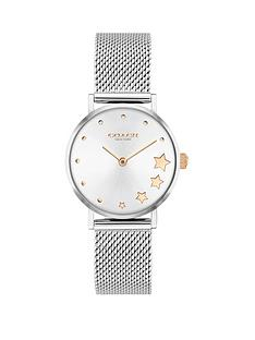 coach-coach-perry-silver-stainless-steel-mesh-strap-bracelet-28mm-dial-ladies-watch