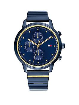Tommy Hilfiger Tommy Hilfiger Tommy Hilfiger Blake Blue Stainless Steel  ... Picture