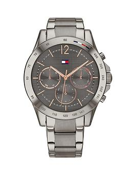 Tommy Hilfiger Tommy Hilfiger Tommy Hilfiger Haven Gunmetal Stainless  ... Picture