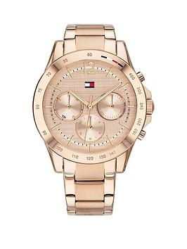 Tommy Hilfiger Tommy Hilfiger Tommy Hilfiger Haven Rose Gold Stainless  ... Picture
