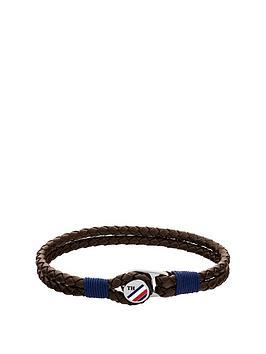 Tommy Hilfiger Tommy Hilfiger Button Leather Bracelet Picture